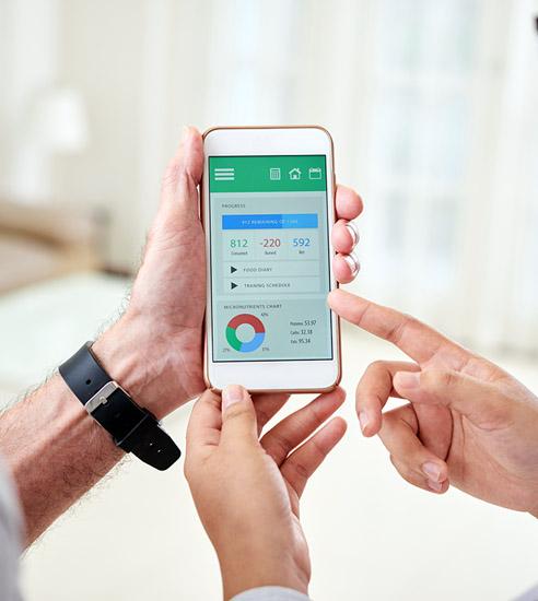 Mobile patient engagement app